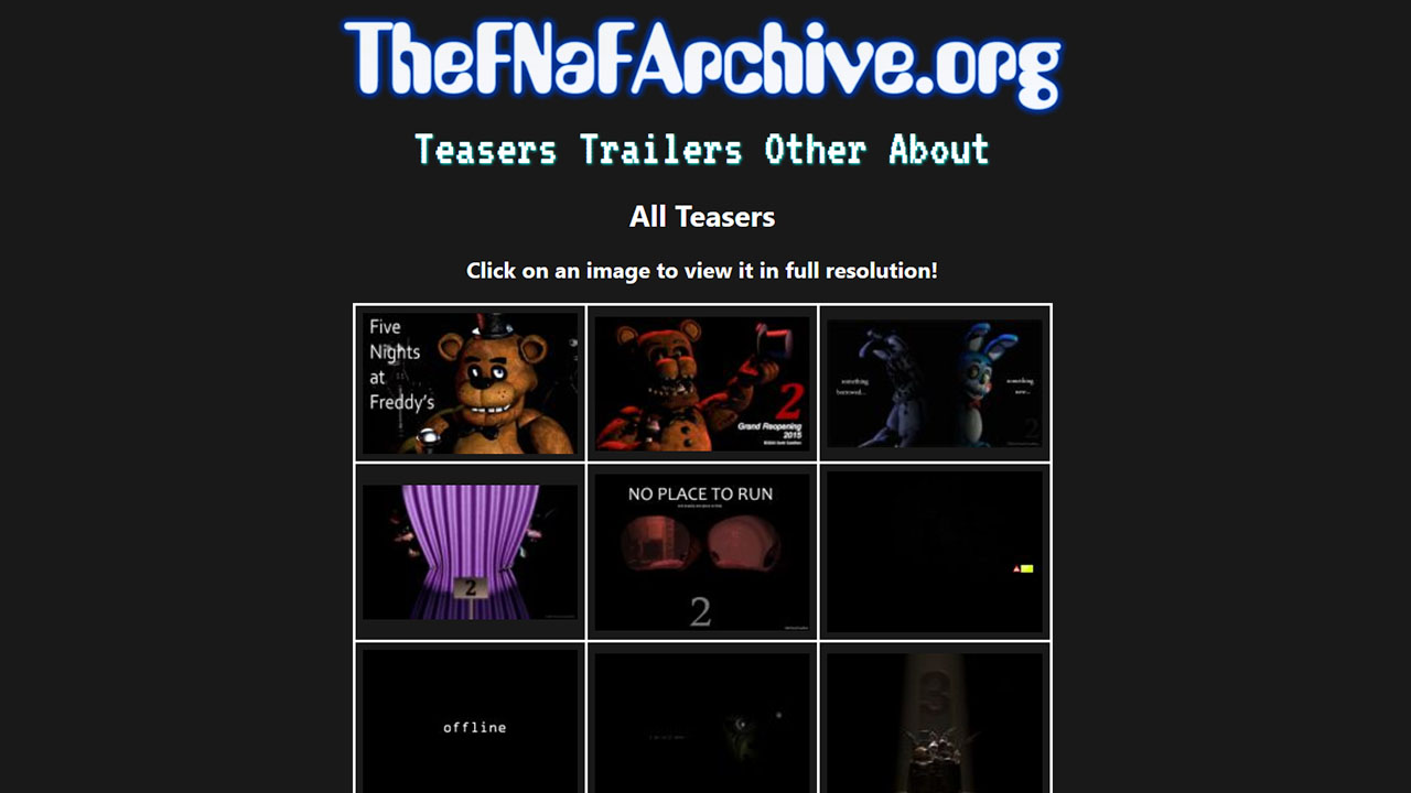 The new teaser grid